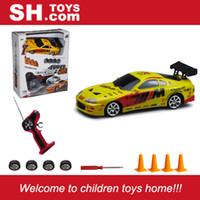 Wholesale Car Lighting Items - SH TOYS 1:24 R C 4WD drifting racing car with lights new item hot selling