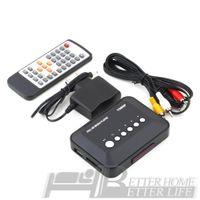 1Pcs Los más nuevos 1080P HD SD / MMC TV TV SD MMC RMVB MP3 Multi TV USB HDMI Media Player