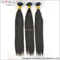 Straight beauty queen human hair - 2016 Hot beauty hair Indian Virgin Hair Straight ali queen Human hair extension weft remy