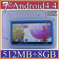 android quad core games - 10x inch quot Quad core Kids tablet pc A33 M G Android tablet Children Wifi handle for Kids Education Games pad PB