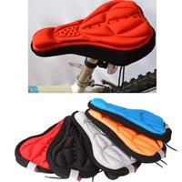 Wholesale Breathable Soft Ergonomic shape Cycling MTB Bicycle Saddle MTB Bike Cover Comfortable Bike Seat Cushion D Pad