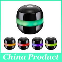China inalámbrica inteligente Baratos-Moxo X-1 inalámbrico bluetooth Levitación magnética altavoces mini portátil de sonido caja azul diente estéreo con radio FM para teléfono inteligente 010131