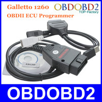 Wholesale 5 Galletto Tuning Interface OBDII Remap Tool Galletto ECU Programmer Support Multi Brand Cars Three Years Warranty
