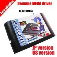 Wholesale New arrival Genuine SEGA MD flashcard th generation Mega drive genesis X SEGA EVERDRIVE MD