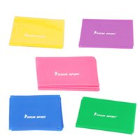 Wholesale Yoga Pilates Exercise Workout Fitness Resistance Band Y0712