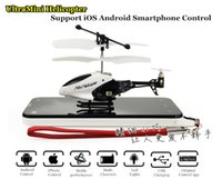 plastic plane - 3 CH ultra mini remote control rc helicopter plane support Android iOS smartphone control with led lights