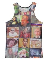 animal rage - 2016 Hot Fashion Women Men Vest Couples Tank Tops Underwear Nicolas Cage Rage Face D Print Crop Sleeveless Garment Stretchy V028