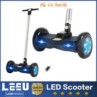 blance - F1 smart blance wheel hoverboard smart balance scooter LED RGB electric scooter bluetooth speaker armrest inch wheels samsung battery
