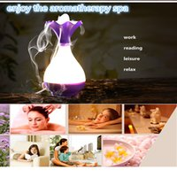 Wholesale Humidifiers ultrasonic aromatherapy machine aroma diffuser Aroma Humidifier Air Humidifier Purifier LED Ultrasonic Mini Aroma Diffuser