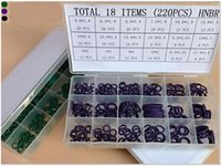 Wholesale New pc Rubber O Ring Assortment Professional Plumbers Washer SAE Gasket Seal Ring Set