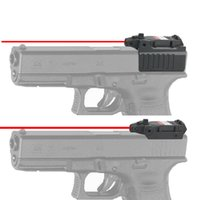 Wholesale Pistol Tactical Red laser sight and mechanical sight integration For Glock c Series