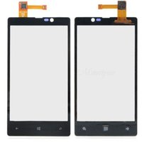 damaged - Unique Cellphone Glass Digitizer Replace Damage Touch Screen Digitizer Cellphone Touch Panel For Nokia LUMIA N820
