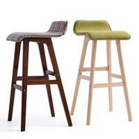 bar stool leg - Jane domain pastoral wood bar stool bar chair bar stool high chair reception chair leg legs