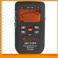 Wholesale JOYO JMT LCD Display Back light Piano Pulsating Digital Electronic Metronome Tuner Guitar with Massage Function