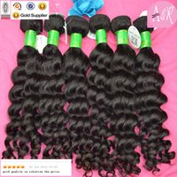 Loose Deep wave mongolian hair - 7A Grade Mongolian Hair Extensions Deep Wave Human Hair Wefts Extensions Unprocessed Virgin Hair Weave DHL