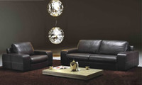 american furniture sectional - Sofa for living room American Design Classic black Leather modern sectional sofa set L9057