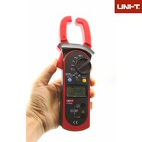 ac temperature meter - Professional UNI T Digital Clamp Multimeters Auto Range Temperature AC DC Current Clamp Meter Unit Ammeter Voltmeter UT A