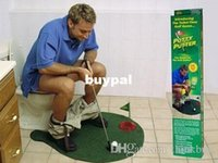 best putting green - Best price Potty Putter Toilet Golf Game Mini Golf Set Toilet Golf Putting Green pcsA1A
