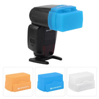 Wholesale New Camera Light Control Soft Silicon Bounce Flash Diffuser For Nikon Speedlite SN R002 For CANON EX RT EX YN600EX RT