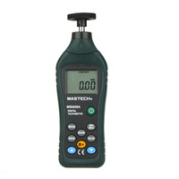 automotive tachometer - Mastech MS6208A Handheld Digital Tachometer Contact Tach Speedometer Automotive electronics