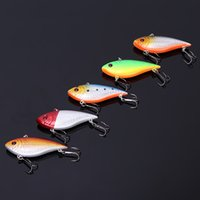big rattle - 50pcs Fishing Sinking VIB Lure Vibration Vibe Rattle Hooks Baits Crankbaits g cm quot Colors
