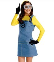 Partito Nuovo Ragazzo Ragazze Ragazzo Vestiti di Moda Halloween Festa in maschera Costumi per Costume Co Uomini Kevin Minion Costume