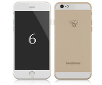 Wholesale I6 I6S Phone MTK6572 Dual Core ghz Android GB RAM GB ROM inch x pixels HD screen G cell phones GPS WIFI