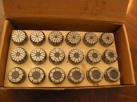 Wholesale ER collet set ER32 collet set mm with wooden tray