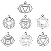 base chakra - new fashion Zinc Based Alloy Chakra Pendants Mixed Silver Tone Hollow cm x2 cm quot x1 quot mm x23mm quot x quot designs