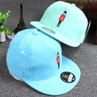 beach ball candy - Candy color embroidery hip hop new beach hat ladies chapeu boy solar cap sun hats for men and women