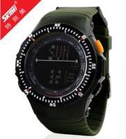 Wholesale New Men Military Watch Sports Watches LED Digital Multifunction Army M Waterproof Dive Climbing Wristwatches Top Quality