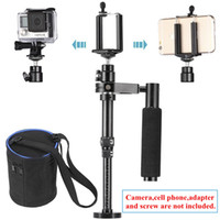 Wholesale Handheld Stabilizer Steadicam With Cellphone Clip For iPhone S S Samsung S5 S4 S3 Note HTC SmartPhone For GoPro xiaomi yi