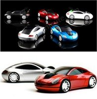 Wholesale New Hot sale G Wireless Mini Optical Car Mouse Mice for Laptop PC USB Receiver Mause game car mouse