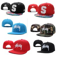 stussy - new Stussy Stock Snapback Caps Men women Sports outdoor Hats Baseball Cap Arrival many colors Fashion hip hop