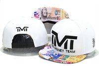 hat box - TMT The Money Team Snapback hats caps TBE usd dollar star flag fashion men adjustable baseball cap shipping in box freeshiping
