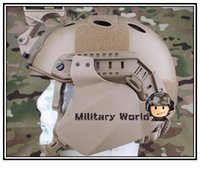 Wholesale Emerson Airsoft Tactical Military Combat FAST Side Cover for Helmet Rail Compatibility With Fast IBH Mich ACH order lt no track