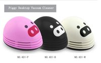 Wholesale Piggy Desktop Vacuum Cleaner M to send his girlfriend a birthday gift creative gifts Novelty toys diy pig
