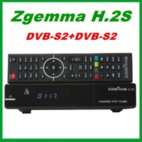 dvb s2 receiver - 5pcs Original ZGEMMA H S Dual Core Twin Tuner DVB S2 DVB S2 IPTV Satellite Receiver support TF Card