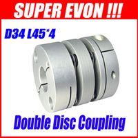 Wholesale 4pcs Double Disc Couplings Zero Backlash Coupling mm Coupling for Stepper Motor SK046