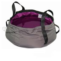 automatic wash basin - Survival Kit Hiking Camping Outdoor Wash Basin Dish Washing Shaving Pet Bowl