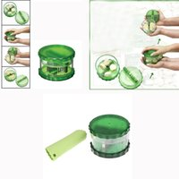 garlic peeler - Kitchen Accessories set Garlic Chopper No touch Pro Peeler Dicer Slicer Cutter for Nuts Ginger Spice Mincer Stirrer Presser H13656