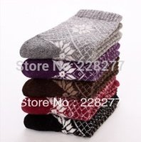 Wholesale pairs Wool Womens Fashion Socks Winter socks wool socks three styles