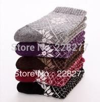 Wholesale pairs Wool Womens Fashion Socks Winter socks wool socks three styles