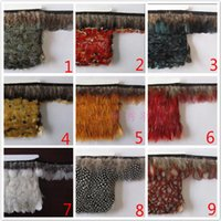Wholesale 10 Yard Piece DIY Dresses Fabrics Feathers Accessories Fringe Trim cm For Party Clothing Accessories Craft