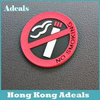 Wholesale car stickers No smoking logo stickers car stylingcar flag sticker A5