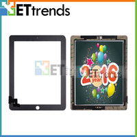 3m sticker - for iPad Touch Screen Glass Digitizer Assembly with Home Button M Adhesive Glue Sticker Replacement Repair Parts Black White AA0066