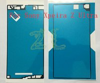Wholesale New Battery Back Cover Glass Glue Adhesive LCD Frame Front Frame Waterproof Sticker Tape For Sony Xperia Z Ultra XL39h Waterproof Sticker