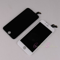 Wholesale For iphone S S C plus TOP Quality LCD display with touch screen digitizer assembly in Black White plus