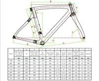 Wholesale 2015 carbon fiber bike frame material T1000 k F frame