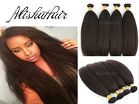 yaki weave hair - 6A Virgin Malaysian Kinky Straight Hair Weft Coarse Yaki Hair Weave Best Afro Hair Products Seller Online quot quot